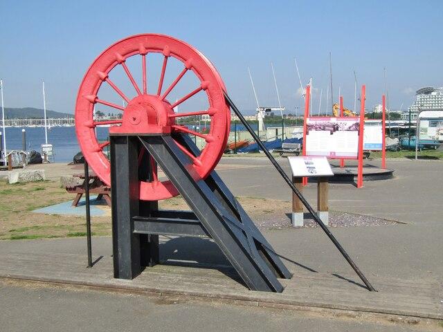 Cardiff Bay - Pithead Model