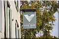ST8884 : The Vine Tree Inn Sign, Norton, Wiltshire 2020 by Ray Bird