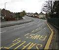 ST3090 : Quiet Sunday morning in November 2020, Malpas Road, Newport by Jaggery