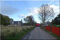 NJ5046 : School Road by Anne Burgess