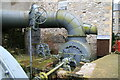 SK1772 : Cressbrook Mill, water turbine by Chris Allen