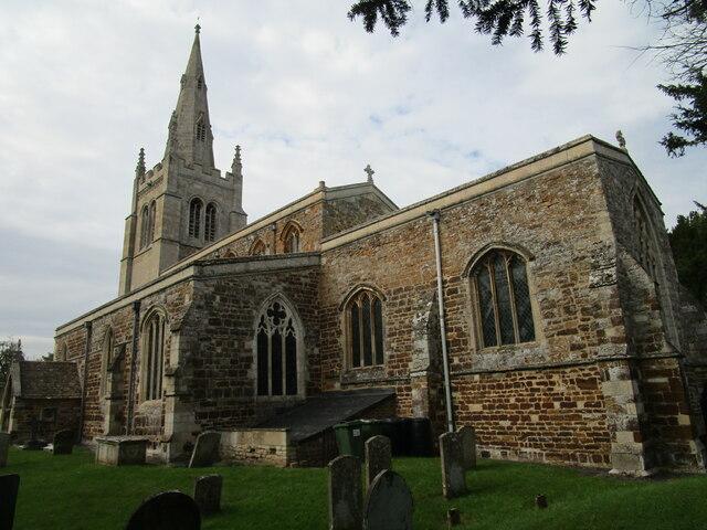 St. Andrew's church, Cransley