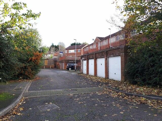 Raynville Walk garages
