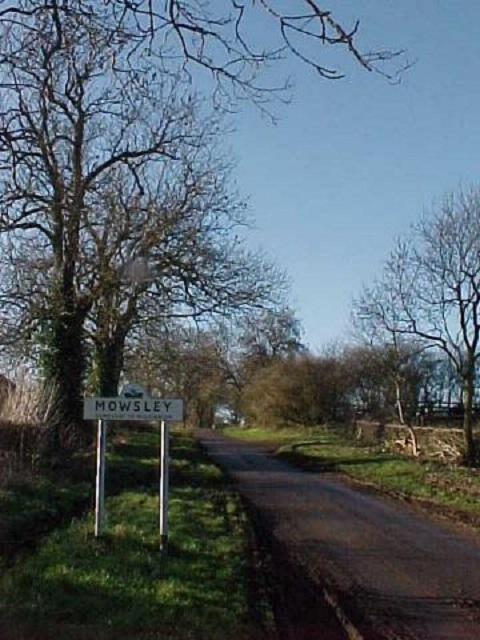 Laughton Lane approaches Mowsley