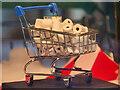 SJ8498 : 50 Windows of Creativity, The Shopping Trolley by David Dixon