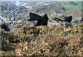 SK2997 : Wharncliffe Crags looking towards Stocksbridge by Dave Pickersgill
