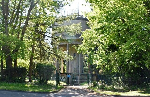 Water Tower, Pembury Rd by N Chadwick
