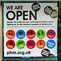 SJ8398 : People's History Museum - We are Open but... by David Dixon