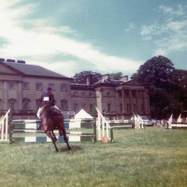 Show jumping at Nostell Priory