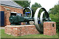 SO4939 : The Waterworks Museum, Hereford - Tangye steam engine by Chris Allen