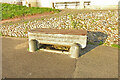 TG5203 : Horse and cattle trough converted to a seat by Adrian S Pye