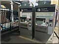 SU8656 : Ticket machines during Covid-19 pandemic by Sandy B