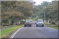 NU1734 : Bamburgh : B1342 by Lewis Clarke