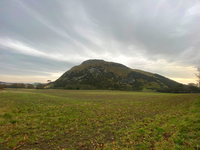 The north-west slopes of North Berwick Law