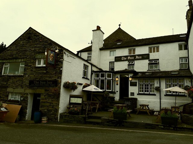The Sun Inn, Hawkshead
