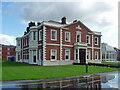 SJ4268 : Hoole Hall, Warrington Road, Chester by Stephen Richards