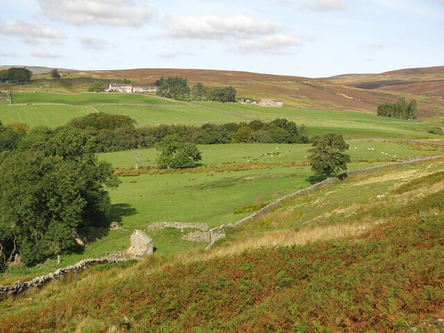 The valley of Shittlehope Burn