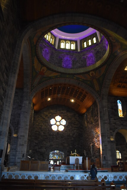 Inside Galway Cathedral - dome