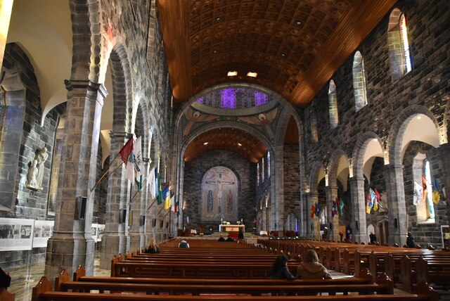 Inside Galway Cathedral