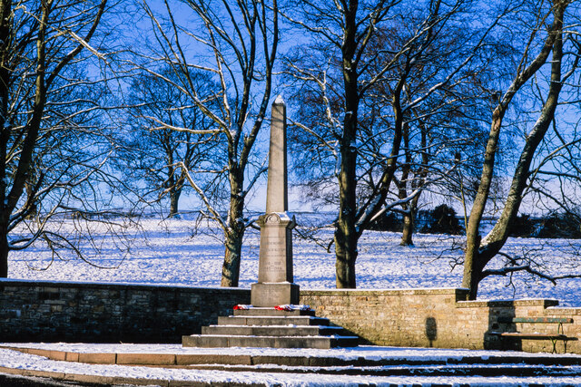 War memorial at Alston - 2
