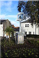TG2830 : North Walsham Town sign by Adrian S Pye