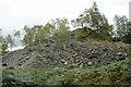NY3205 : Spoil heap near Chapel Stile by Bill Boaden