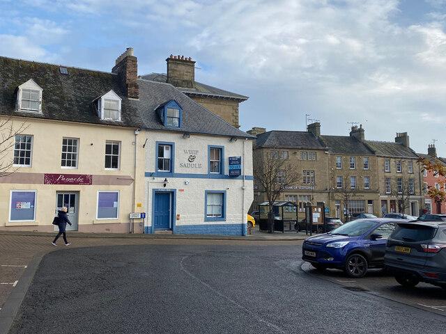 Town centre - Duns