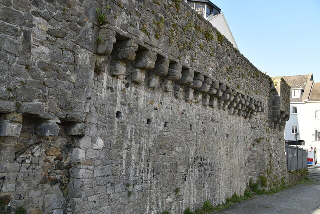Wall by Spanish Arch