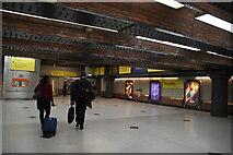 SJ8497 : Piccadilly Metrolink Stop by N Chadwick