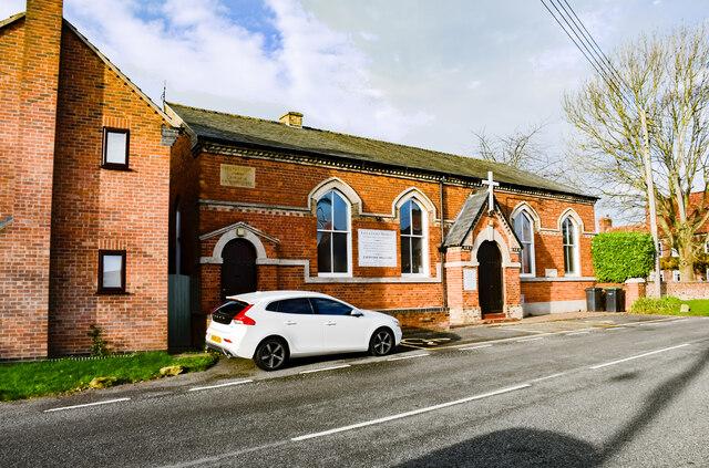 Wesleyan Chapel and School, Swinderby