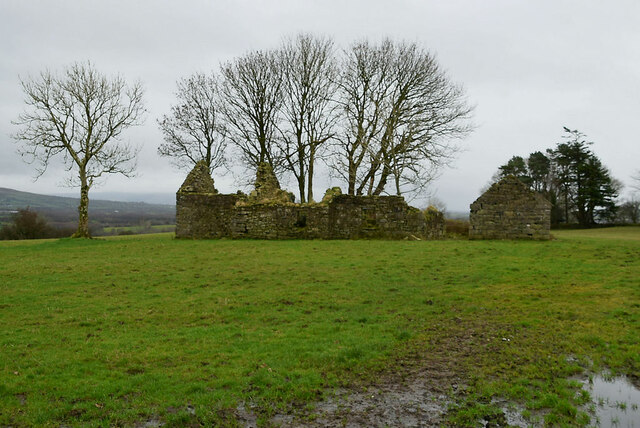 Ruined building, Bomackatall Upper