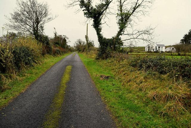 Minor road, Bomackatall Upper