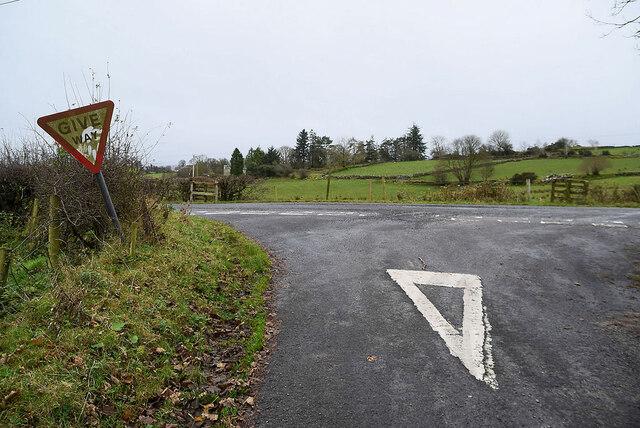 Road junction, Bomackatall Upper