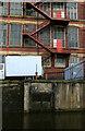 SJ9587 : Goyt Mill, Marple - across the Macclesfield Canal by Chris Allen