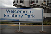 TQ3186 : Welcome to Finsbury Park by N Chadwick
