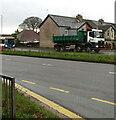 ST3091 : Four-axle lorry, Malpas Road, Newport by Jaggery