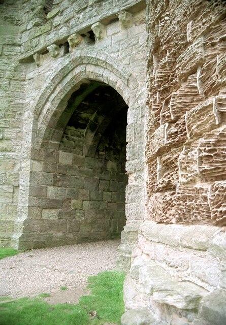 The Gateway, Dunstanburgh Castle