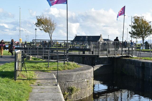 Eglinton Canal Sea Lock
