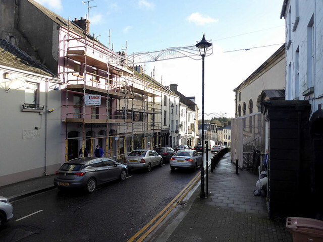 Renovations to premises in George's Street, Omagh