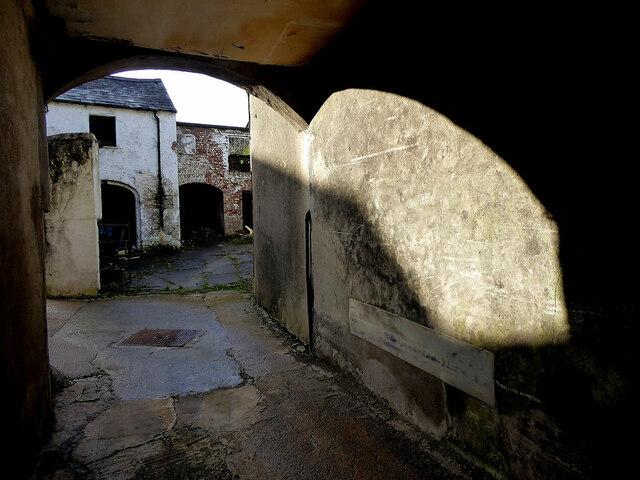 Hidden entry, Omagh