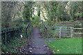 SO2701 : Approach to bridge over Afon Lwyd by M J Roscoe