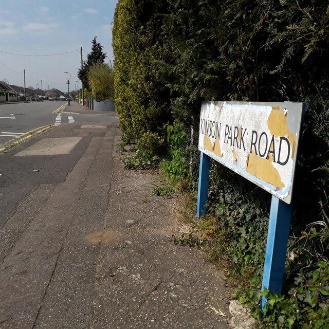 Kinson: Kinson Park Road
