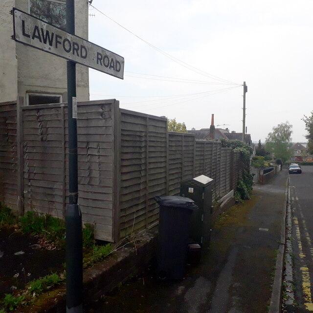 Moordown: Lawford Road