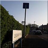 SZ0795 : East Howe: Leedam Road by Chris Downer