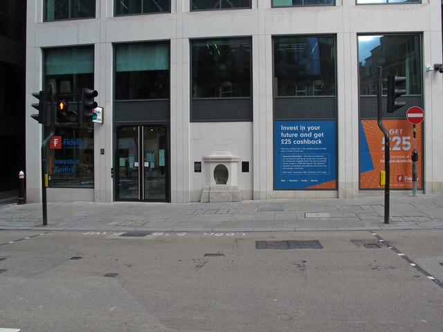 The location of London Stone (111 Cannon Street)