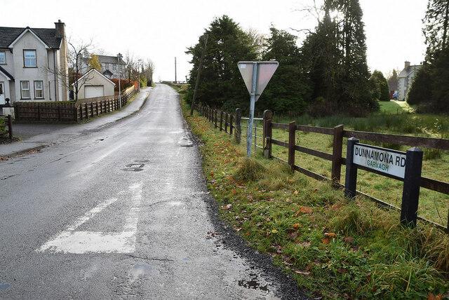 Dunnamona Road, Garvagh