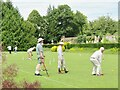 TQ1352 : Polesden Lacey - Croquet Lawn by Colin Smith