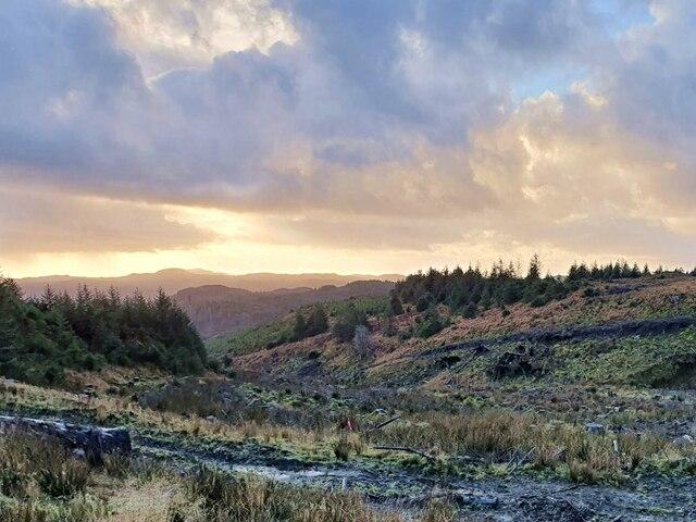 Valley of the Auchoish Burn
