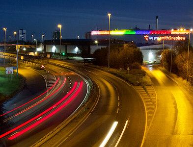 TA0827 : Early morning flyover, Hull by Paul Harrop
