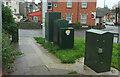 SX9165 : Street furniture, Upton, Torquay by Derek Harper